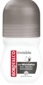 Dezodorant roll-on Borotalco Invisible, 50ml