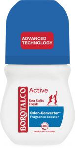 Dezodorant roll-on Borotalco, Active sea salt, fresh, 50ml