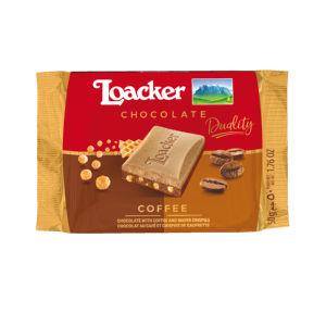 Čokolada Loacker kava, 50 g