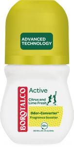 Dezodorant roll-on Borotalco, Active citrus&lime, 50ml