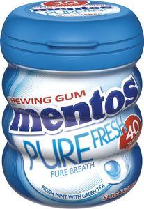 Žvečilni gumi Mentos, pure fresh, mint, 60 g