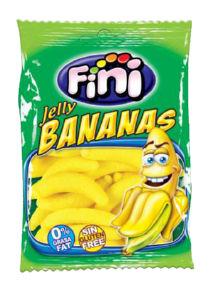 Bonboni, gumi, banance, 100g