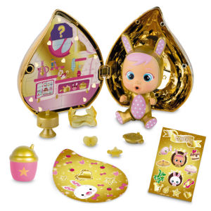 Mini punčke Cry Babies zlata serija