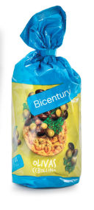 Vaflji koruzni, olive in drobnjak, 123,5g