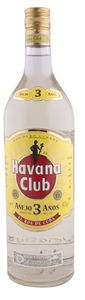 Rum Havana, 3Y, alk.40 vol%, 1l