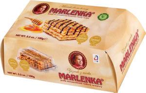 Torta Marlenka, medena z orehi, 100g