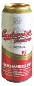 Pivo Budweiser, alk. 5 vol %, 0,5 l