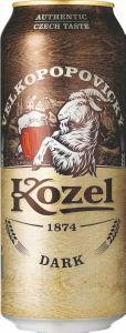 Pivo Kozel, temno, alk. 3,8 vol %, 0,5l