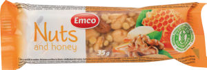 Rezina Emco, oreščki, med, 35g