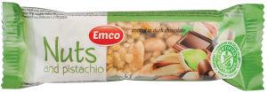 Rezina Emco, oreški, pistacija, 35g