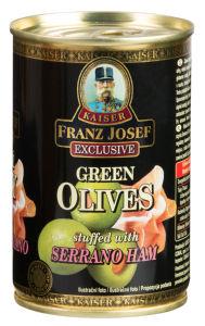 Olive zelene s slanino, 314g