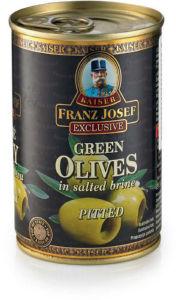 Olive zelene brez koščic, 314g