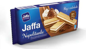 Napolitanke Jaffa smetana, čokolada, 187g