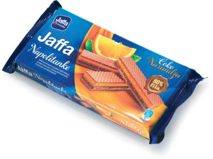 Napolitanke Jaffa čokolada, pomaranča, 187g