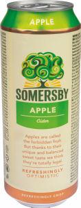 Cider Somersby, jabolko, alk.4,5 vol %, 0,5l