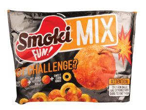Flips Smoki, Fun ketchup&corn mix, 150 g