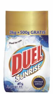 Detergent za pranje perila Duel Sunrise, 3 kg + 500 g gratis