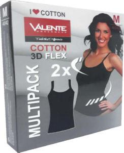 Majica spodnja, ženska, black flex, vel.M, 2/1