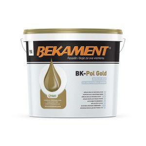Barva BK Pol Gold, notranja, 15l