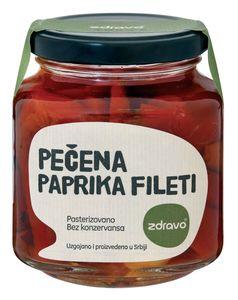 Paprika pečena, Zdravo, fileti, 290g