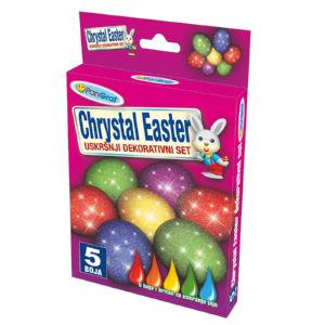 Barva za jajca, tekoča 5/1+kristali
