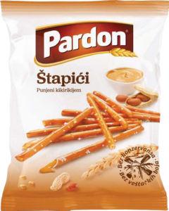 Palčke Pardon, polnjene z arašidi, 230g