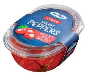 Paprike cherry Meggle, polnjene s sirom, 210 g