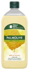 Milo Palmolive, tek.,med&ml., refil,750ml