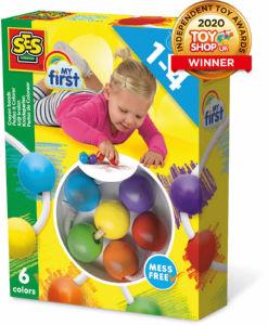 Voščene kroglice za barvanje Ses