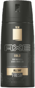 Dezodorant Axe, moš., Gold, body sprej, 150ml