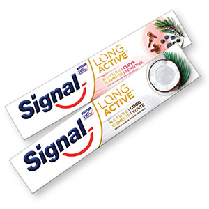 Zobna pasta Signal, Nature coco white, 75ml