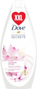 Gel za prhanje Dove, Lotus&Rice wate, 500ml
