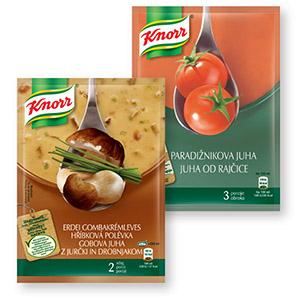 Gobova juha z jurčki in drobnjakom Knorr, 60g