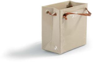 Angel zlati v vrečki, 40cm