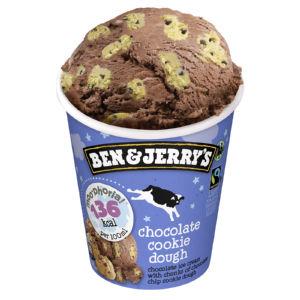 Sladoled Ben&Jerry´s Moo-Phoria, chocolate, cookie dough, 465 ml