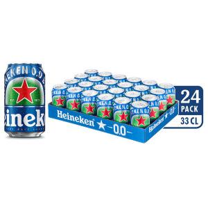 Pivo Heineken brez alk.pločevinka, 0,33l
