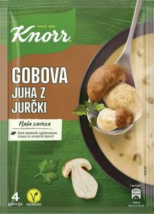 Gobova juha z jurčki, Knorr, 67g