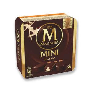Sladoled multipak, Magnum classic, 6 x 55 ml