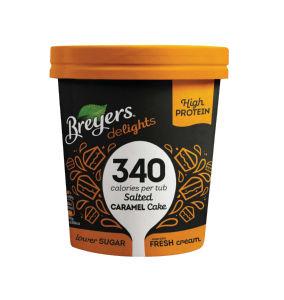 Sladoled Breyers slana karamela, 500ml