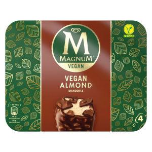 Sladoled Magnum, Mandelj Vegan, 4x90ml