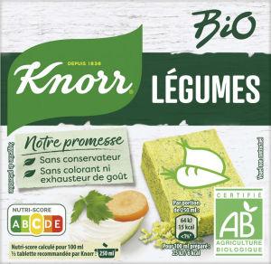 Kocka Bio Knorr, zelenjavna, 60g