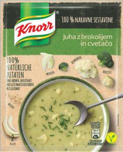 Juha Krorr cvetača brokoli, naravna, 52g