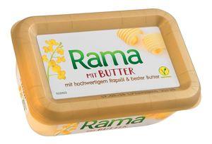Margarina Rama, z maslom, 225g