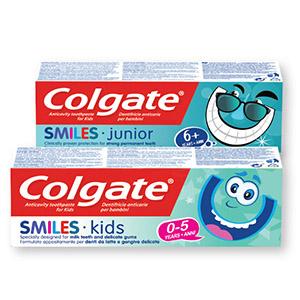 Zobna pasta Smile, otroška, od 0-5let, 50ml