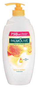 Gel za prhanje Palmolive, mleko&med, pump, 750ml