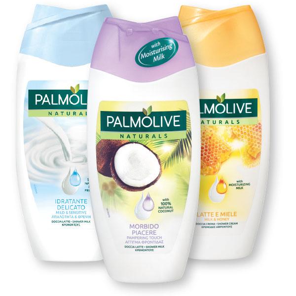 Tuš gel Palmolive, kokos natur, 250ml