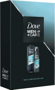 Darilni set Dove, moški, M+C clean com f, deo+sg
