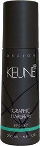 Lak za lase Keune, Graphic hairspray, 200 ml