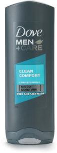 Tuš gel Dove, clean comfort, 250ml