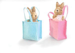 Dekoracija, zajček v vrečki
